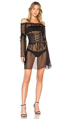 Купить Платье lisieux - DANIELLE GUIZIO черного цвета