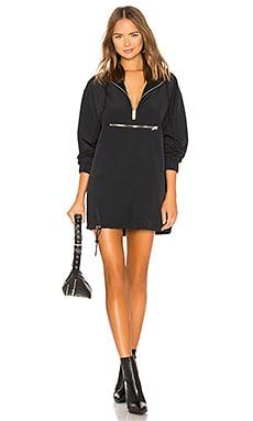 Windbreaker Hoodie Dress DANIELLE GUIZIO $182