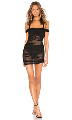 Lynx Ruched Dress DANIELLE GUIZIO $238 NEW ARRIVAL