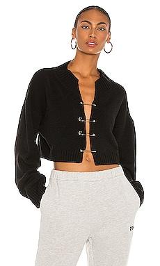 Safety Pin Sweater DANIELLE GUIZIO $348 NEW