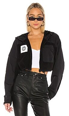 Cropped Fleece Jacket DANIELLE GUIZIO $167