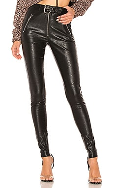 Belted Leather Pants DANIELLE GUIZIO $188
