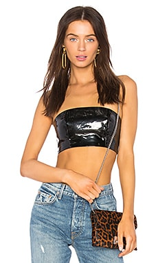 Patent Leather Top DANIELLE GUIZIO $37