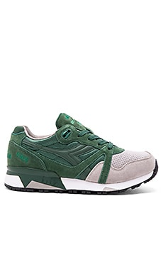 Diadora N9000 Double in Fogliage Green Paloma Grey