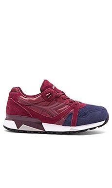 Diadora N9000 Double in Violet Brick Blue Corsair
