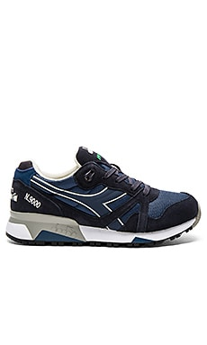 Diadora N9000 NYL II in Insigna Blue & Nine Iron
