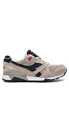 Diadora Elite N9000 Italia in Blue Nights & Paloma Gray