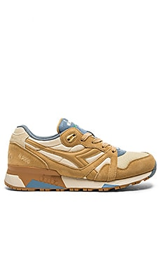 Diadora N9000 NYL in Beige Sheep