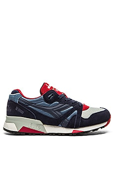 Diadora N9000 NYL in Colonel Blue