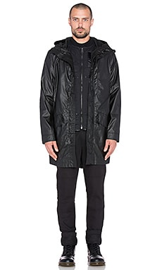 Dickies Construct Rain Parka in Black