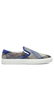 Diemme Garda Woven Leather Slip On in Capria