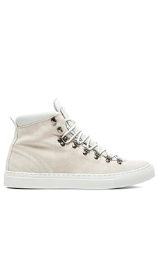 Diemme Marostica Mid Velour Suede in Off White