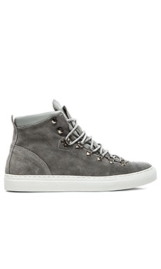 Diemme Marostica Mid Velour Suede in Light Grey