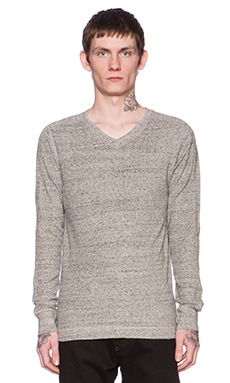 Diesel Alexir Sweatshirt Hood in Dark Heather Grey