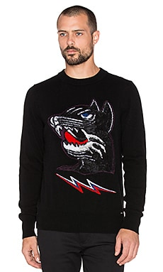 Diesel Baddog Sweater in Black