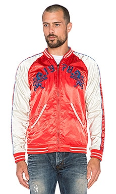 Diesel Gahan Reversible Jacket in Mordant Red