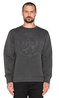 Diesel Veroke Sweatshirt in Dark Grey