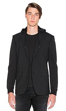 Diesel Swesl Blazer Hood in Black