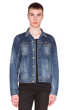 Diesel Elshar-E Denim Jacket in Denim