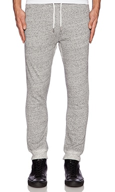 Diesel Ascal Sweatpant in Dark Heather Grey