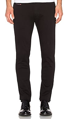 Diesel Chi-Shaped Pant in Black