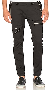 Diesel Grundy Pants in Black