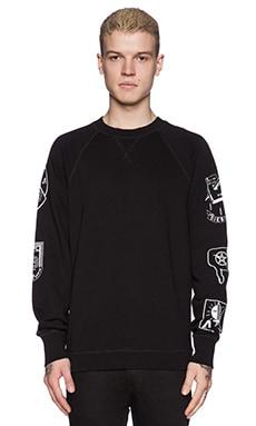Diesel Hun Sweatshirt in Black