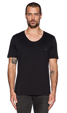Diesel Zotikos Tee in Black