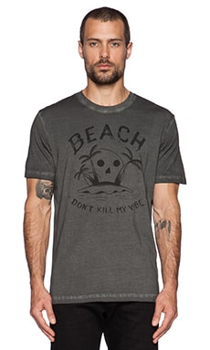 Diesel Zoi Tee in Black