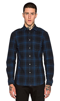 Diesel D Carry Long Sleeve Shirt in Denim