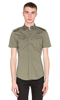 Diesel Haul Shirt in Green