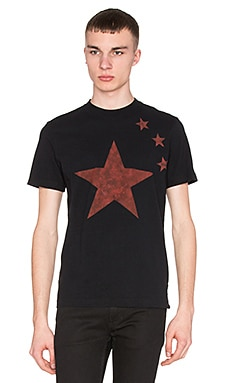 Diesel Neptun Tee in Black