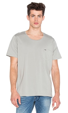 Diesel Kronox Tee in Light Grey