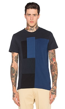 Diesel Luke Tee in Navy