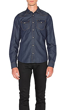Diesel Sonora Long Sleeve Shirt in Denim