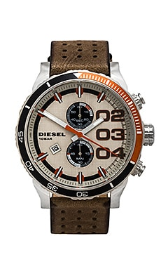 Diesel Franchise 2.0 48mm in Stainless Steel