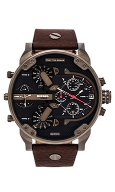 Diesel Mr Daddy 2.0 DZ7314 in Gunmetal IP