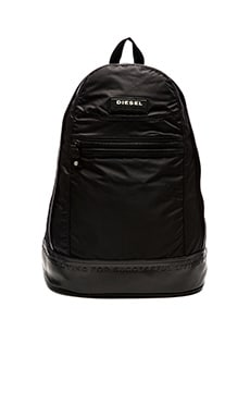 Diesel On The Road Twice New Backpack in Black