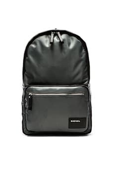 Diesel Beat The Box Drum Roll Backpack in Grey Black