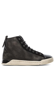 Diesel Tempus Diamond Sneaker in Black
