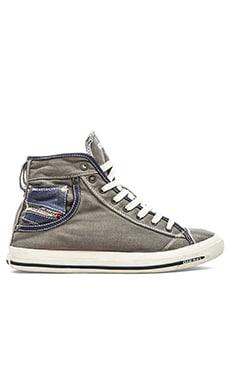 Diesel Magnete Exposure I Sneaker in Grey Gargoyle