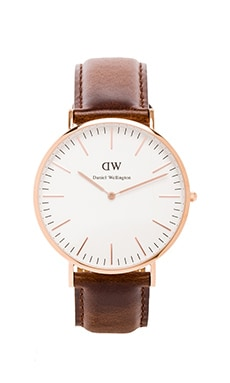 Daniel Wellington Bristol 40mm en Or Rose