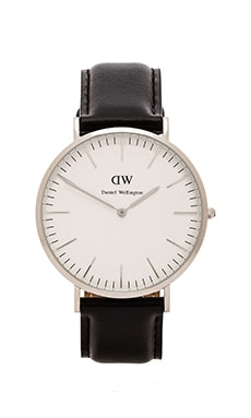 Daniel Wellington Sheffield 40mm en Argent