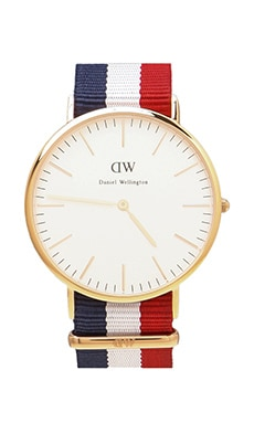 Daniel Wellington Cambridge 40mm en Or Rose