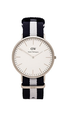 Daniel Wellington Glasgow 40mm in Silver