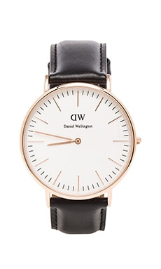 Daniel Wellington Sheffield 40mm in Rosegold