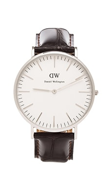 Daniel Wellington York 40mm in Silver