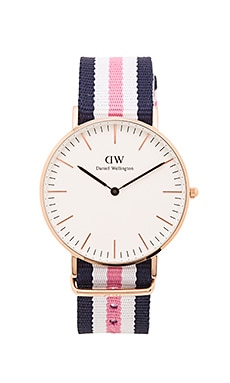 Daniel Wellington Classic Southampton 36mm in Rose Gold
