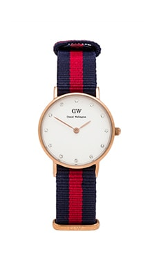 Daniel Wellington Classy Oxford in Rose Gold