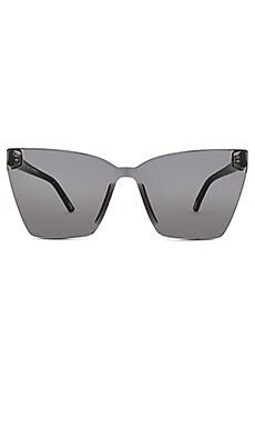 Фото - Солнцезащитные очки goldie - DIFF EYEWEAR черного цвета